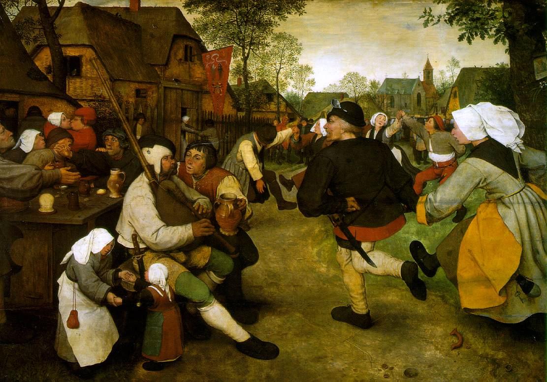 Danse des paysans - 1568